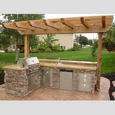 Outdoor Block Kitchen Designs  Related For 17 Small