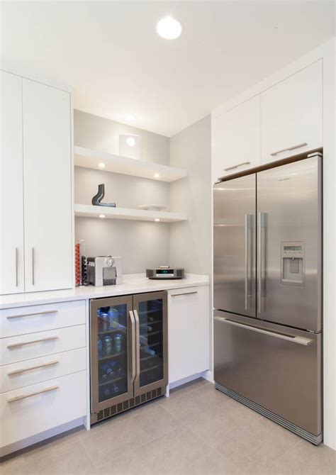 kitchen refrigerator cabinet stylish glass door fridge to see what is inside amaza design 2487