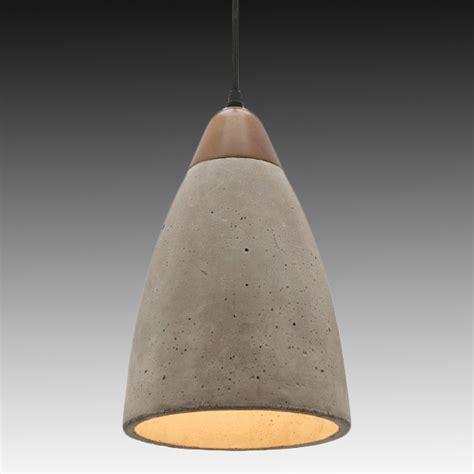Pendant Lighting Ideas: Large dome concrete pendant light