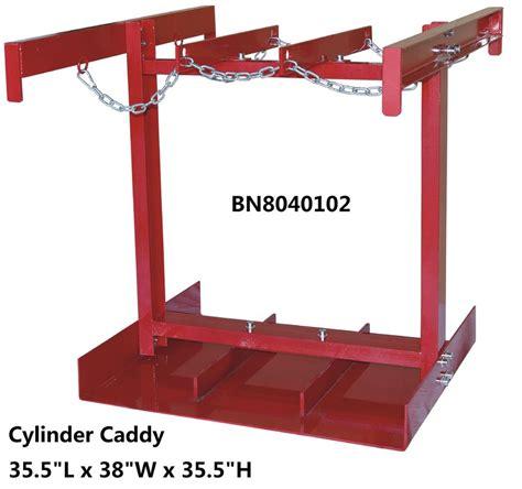 steel compressed gas cylinder stands gas tank storage rack    diameter