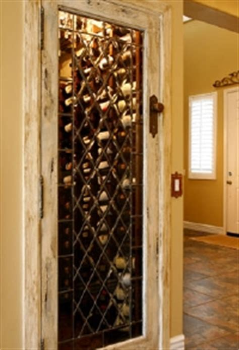 turn a small closet into a wine cellar install