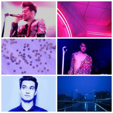 theme aesthetic urie brendon bisexual anon