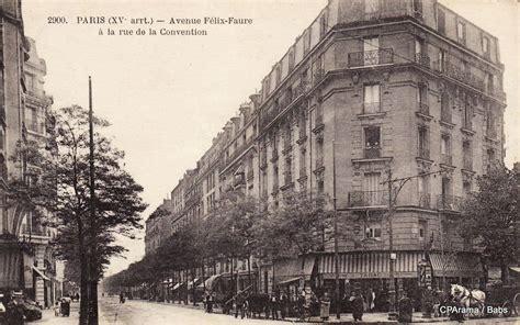 avenue felix faure avenue f 233 lix faure xve arr cartes postales anciennes sur cparama