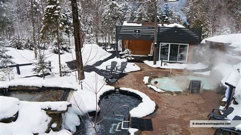 winter relaxation  siberia station spa quebec city
