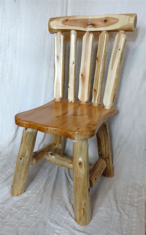 rustic lodge log and timber furniture handcrafted from