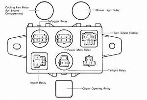 1995 Fzj80 Circuit Opening Relay