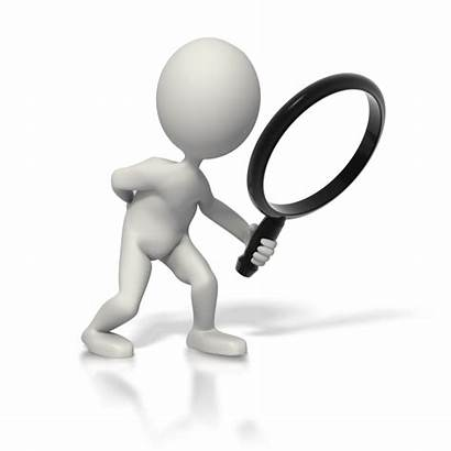 Clipart Analysis Research Stick Figure Searching Scratching