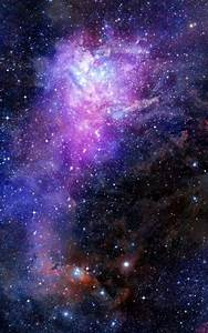 Galaxy Stars Wallpaper Portrait - Pics about space