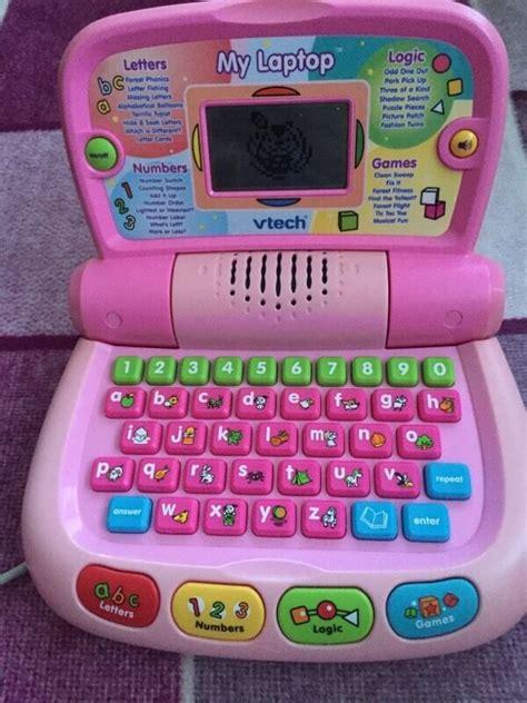 vtech   laptop pink version   hatherley