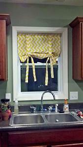 creative, kitchen, window, treatment, ideas