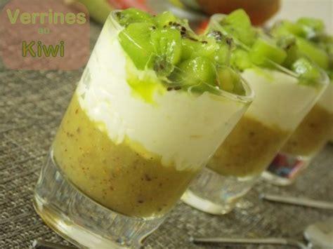 verrines au kiwi facile dessert ramadhan 2013 le cuisine de samar