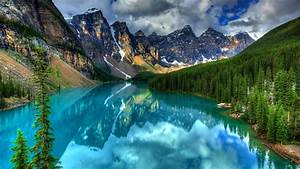 Crystal, Mountain, Lake, Hd, Desktop, Wallpaper, Widescreen