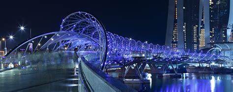 Dnainspired Bridge Wins Singapore Institute Architectural