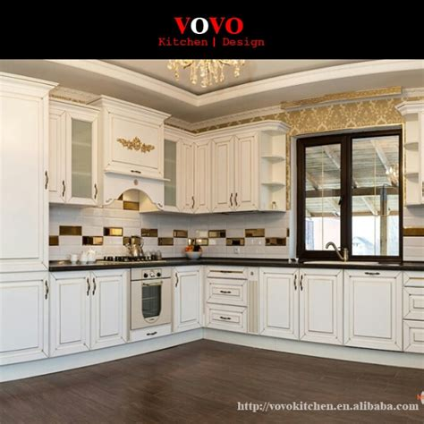 design traditional solid wood kitchen cabinets