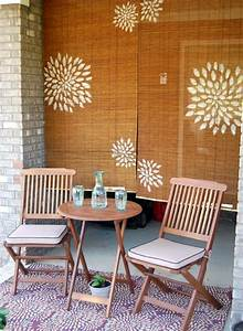 Bamboo, Blinds, Stencils, Paint, Awesome, Idea, For, Our, Back, Porch, Verticalblindslivingroom