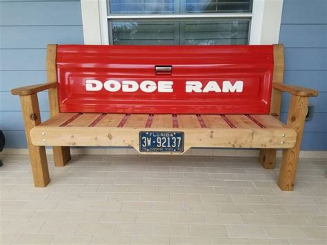 truck tailgate benches images  pinterest