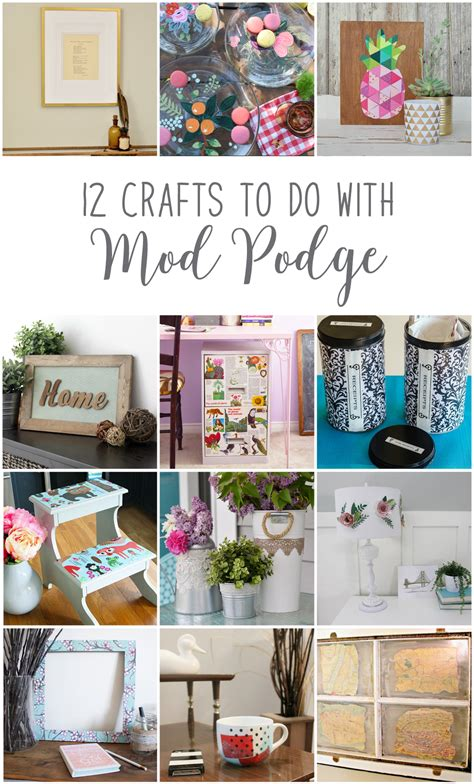 mod podge ideas crafts make lace decoupaged garden containers 12monthsofdiy 4979