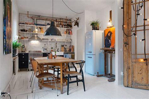 small swedish apartment     scandinavian style