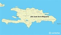 Where is San Juan de la Maguana, The Dominican Republic ...