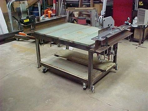 homemade chassis jig tables