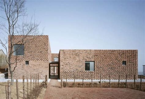 brick facade house pictures modern brick home design in china brings an innovative