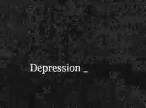 depression, gif, text - animated gif #232194 on Favim.com Depression