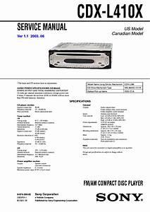 Sony Cdx Gt06 Wiring Diagram