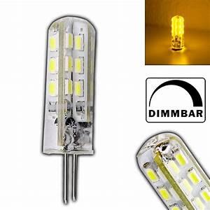 Led Leuchtmittel Dimmbar : g4 1 5 watt led lampe gelb gelbes licht 12v dc dimmbar leuchtmittel lampe ebay ~ Markanthonyermac.com Haus und Dekorationen