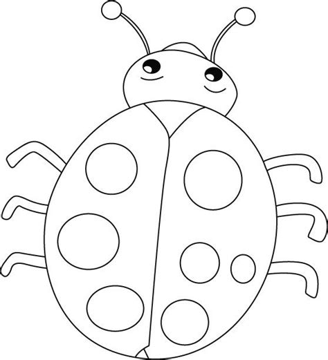 ten  ladybugs coloring pages coloring pages