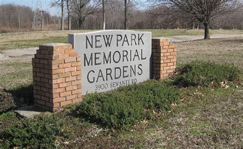 cemetery new park cemetery inc