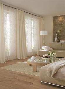 vorhange wohnzimmer landhausstil With moderne wohnzimmer gardinen