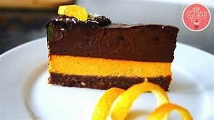 Double Chocolate & Orange Cheesecake Recipe | Raw Vegan ...