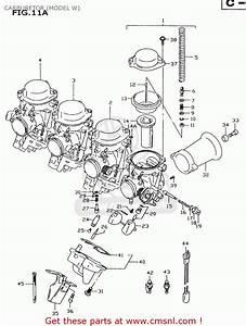 Suzuki Gsxr600 2000  Y  Carburetor  Model W