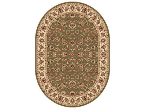 oval area rugs tayse rugs elegance davenport oval green area rug