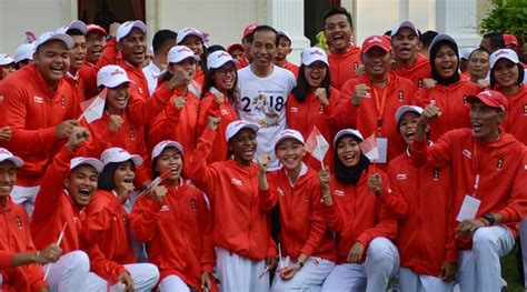asian games  indonesia target  gold medals sports