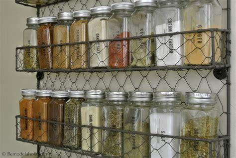 remodelaholic printable spice labels   modern