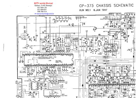 Daewoo C-50n Chassis Service Manual Download, Schematics
