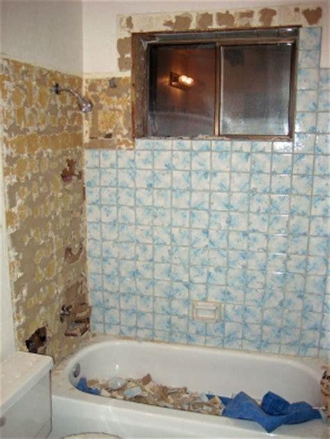 retiling tub surround   case  keeping dry repair home