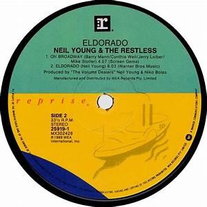 Neil Young & The Restless - Mini-LP Eldorado (reprise ...