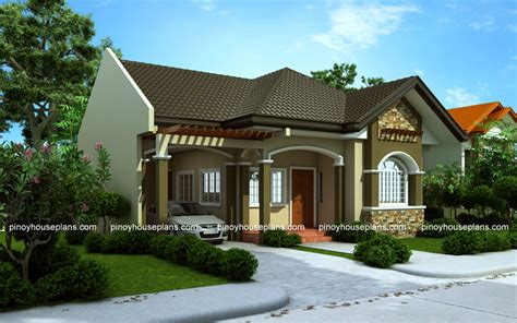 Bungalow House Designs Series, Php2015016