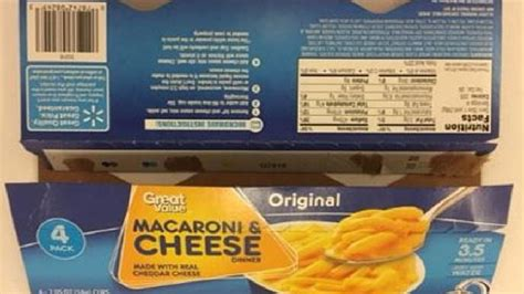Great Value, Other Brands Of Mac And Cheese Recalled For