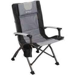ozark trail ultra high back folding quad c chair