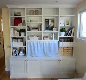 IKEA Hack Built in Bookshelves