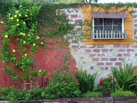 ideas for painting garden walls brick wall garden designs decorating ideas design trends premium psd vector downloads
