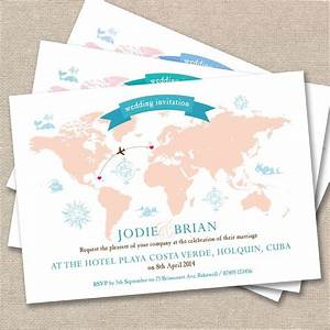 details about 25 x personalised wedding invitations With wedding abroad when to send invitations