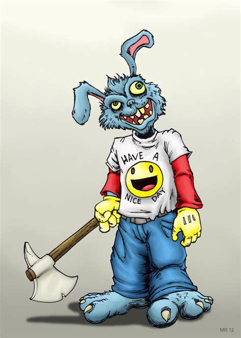 bunny man  hawanja  deviantart