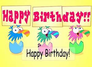 Ecards Birthday Birds