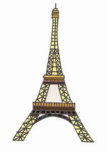Eiffel Tower Cartoon | New Calendar Template Site