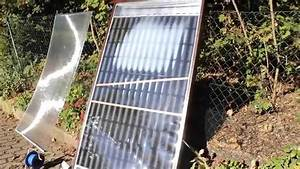 Luftkollektor Selber Bauen : solar luftkollektor schmilzt wegen der hitze youtube ~ A.2002-acura-tl-radio.info Haus und Dekorationen