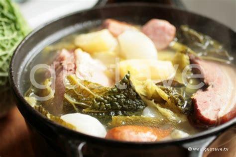recette potee de chou vert 100 images recette de pot 233 e aux choux la recette facile recette